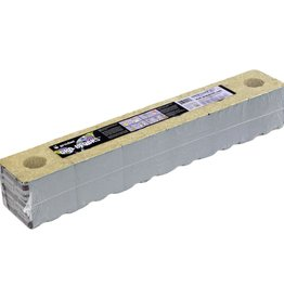 GRODAN Grodan Stonewool Delta 10 Gro-Blocks 4x4x4 W/HOLE