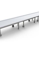 ACTIVE AIR Active Aqua Infinity Tray End, 4'x4' Minus