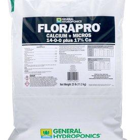 GENERAL HYDROPONICS General Hydroponics FloraPro Calcium + Micros Soluble 25 lb bag