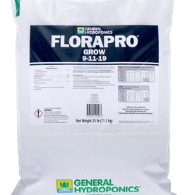 GENERAL HYDROPONICS General Hydroponics FloraPro Grow Soluble 25 lb bag