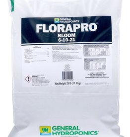 GENERAL HYDROPONICS General Hydroponics FloraPro Bloom Soluble 25 lb bag