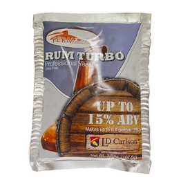 LIQUOR QUIK A new Rum Turbo Yeast with minerals, nutrients and vitamins. Makes 25 liters (6 USG) of alcohol. No equivalent.