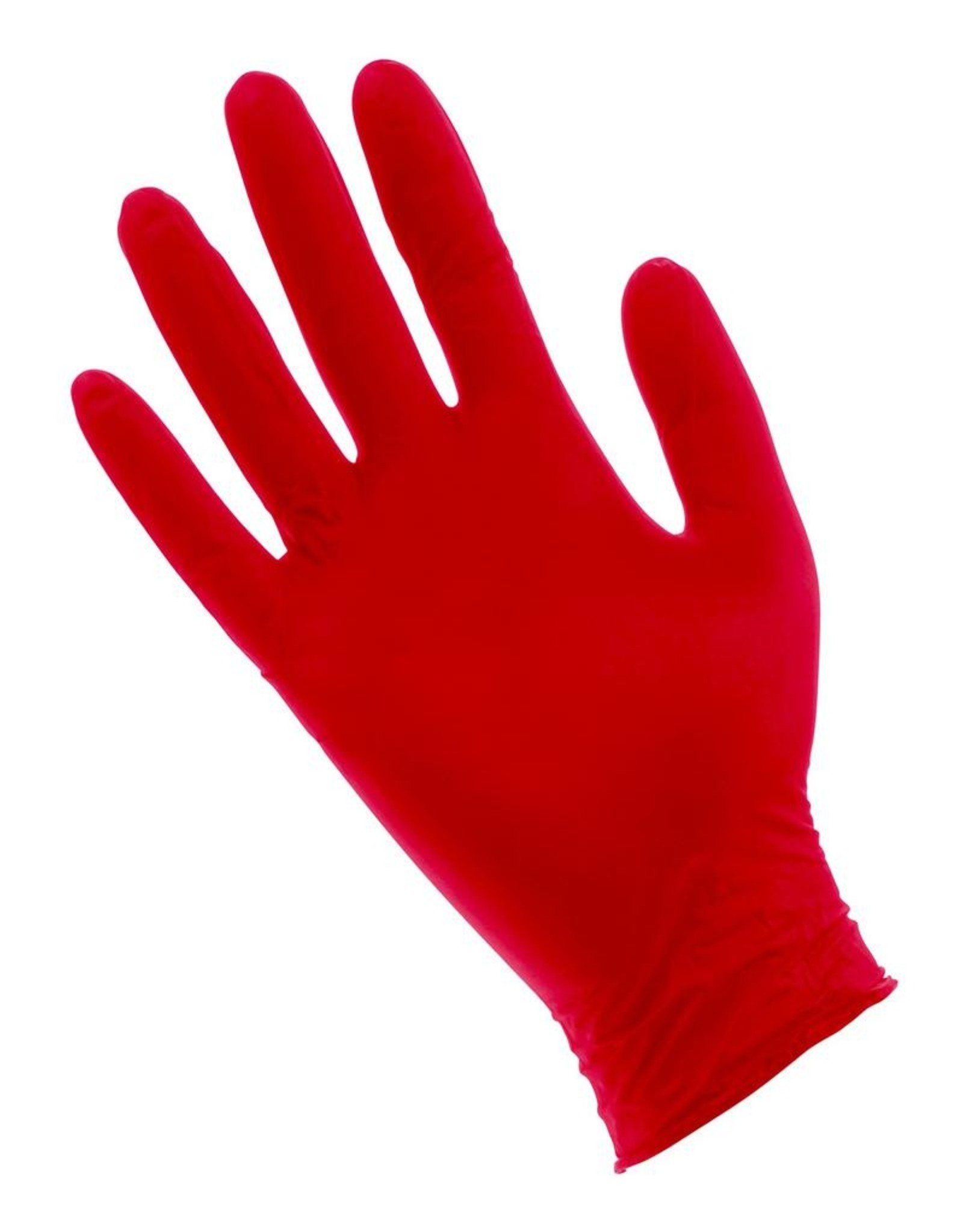 Nitrile Red Lightning Powder Free Nitrile Gloves Large