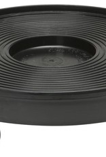 SUNLIGHT SUPPLY Plant Dolly Black 12 in Round