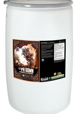 Emerald Harvest Keep your nutrient solution in the sweet spot with Emerald Harvest® pH Down. A pH reading above 6.5 is considered too alkaline for most hydroponic gardens. This premium pH acidifier allows you to reduce the pH of your nutrient solution. Use pH Down as nee