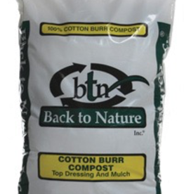 Back to Nature Cotton Burr Compost - 2 cf