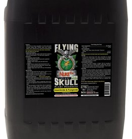 FLYING SKULL Nuke Em® insecticide/fungicide is a pesticide that has been proven effective in both hobby and commercial grows and its purity is verified. It targets all species of broad mites, russet mites, spider mites, leaf aphids, whitefly and other plant leaf paras