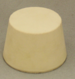 LD CARLSON #7.5 SOLID RUBBER STOPPER