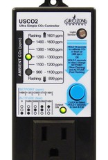 GROZONE Grozone Control USCO2 0-2000 PPM Single Zone Ultra Simple CO2 Controller