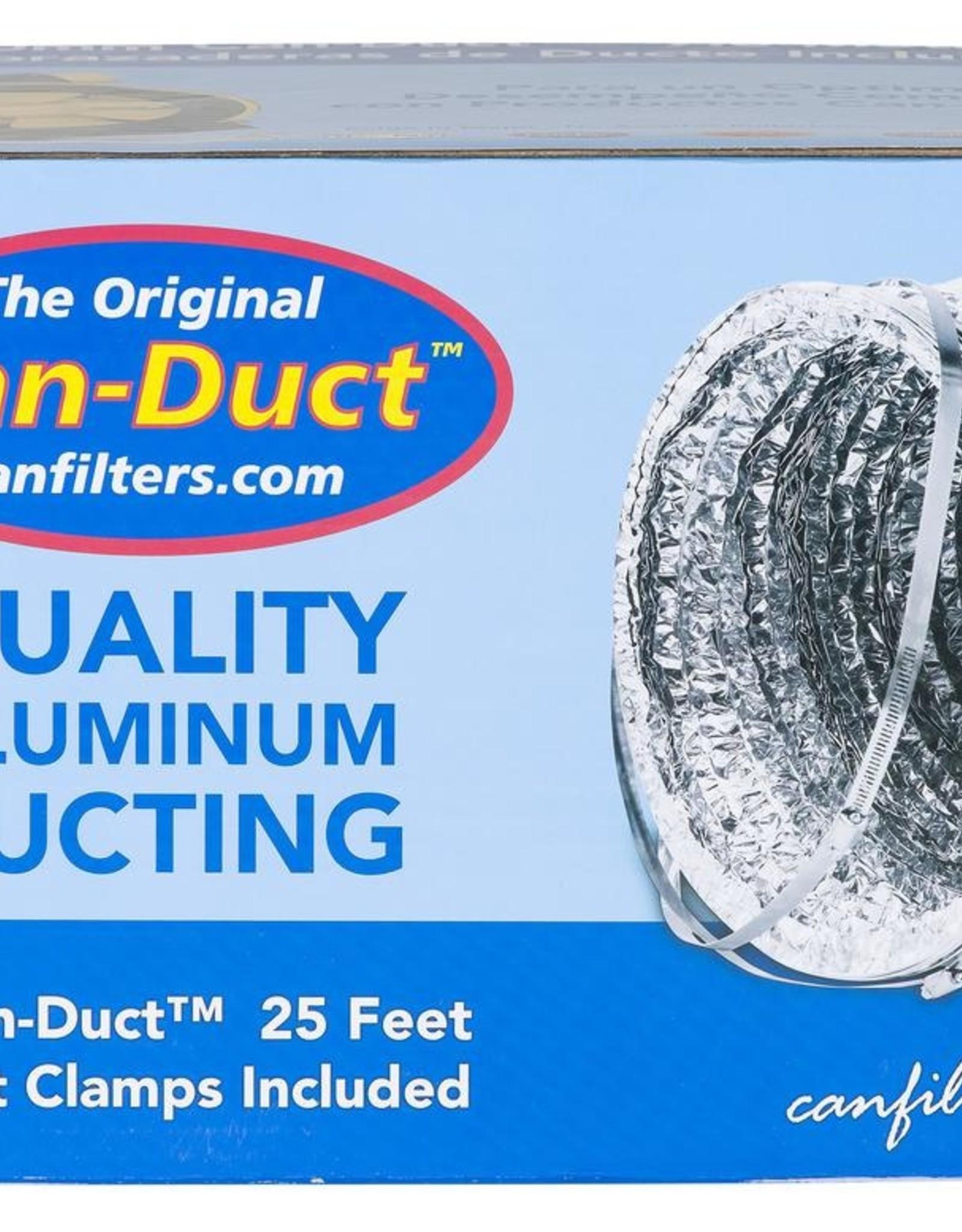 CAN FAN Can-Fan Silver/Silver 3 Ply Ducting 8 in x 25 ft