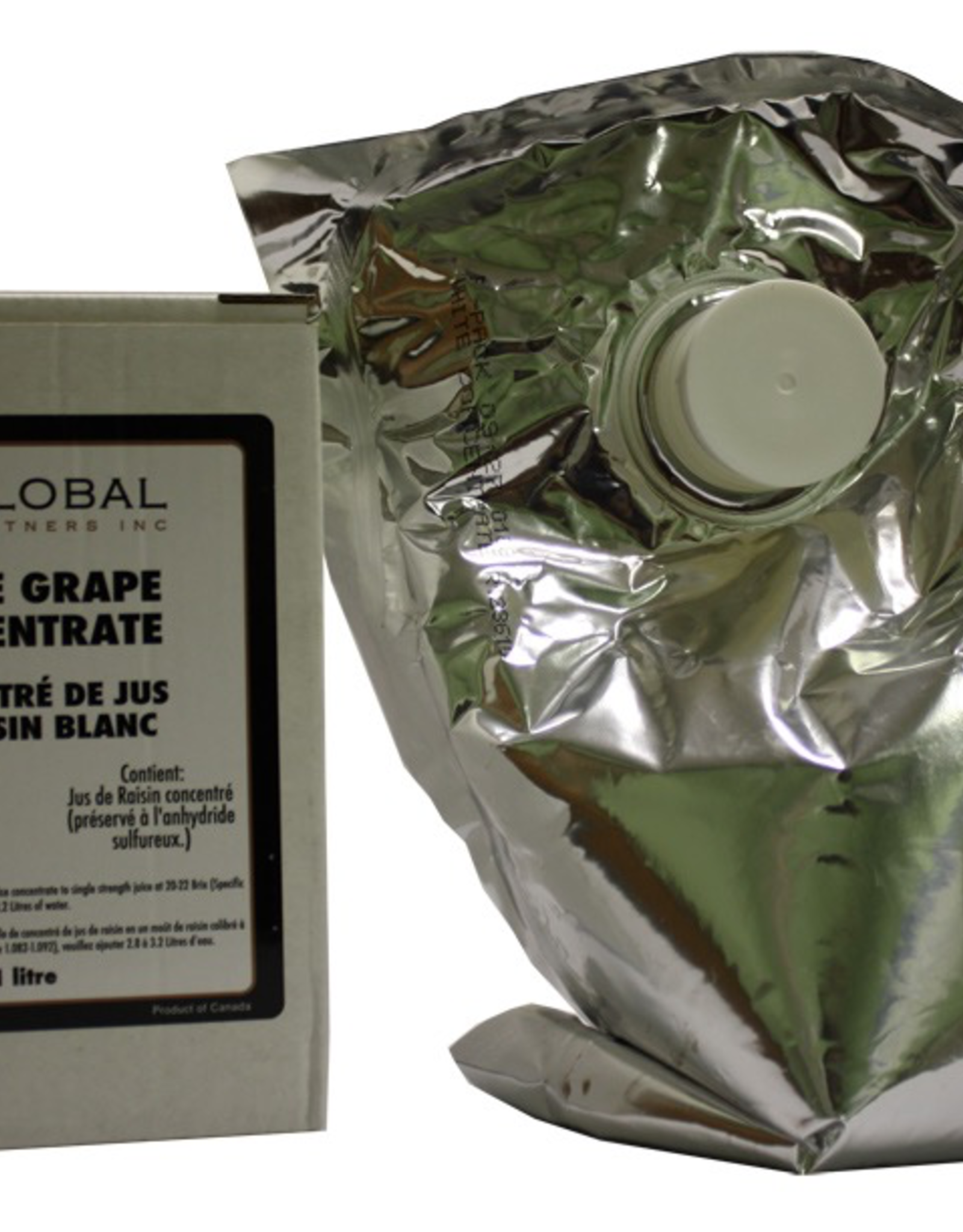 GLOBAL VINTNERS WHITE GRAPE CONCENTRATE 1 <br /> LITER