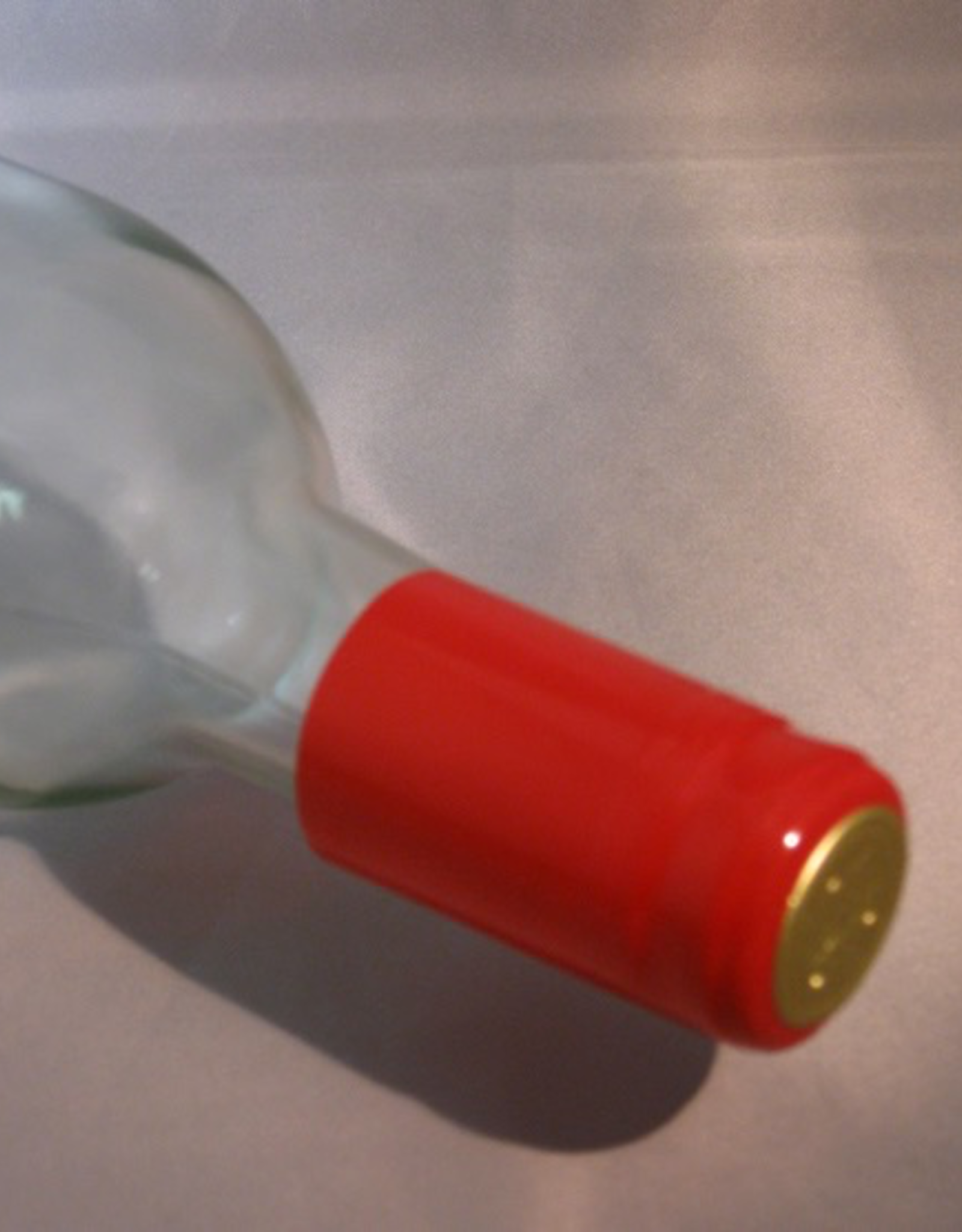 LD CARLSON RED PVC SHRINK CAPSULES 30/BAG