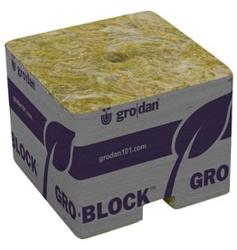 GRODAN Grodan PRO Starter Mini-Blocks 1.5 in Unwrapped (50/Cs)