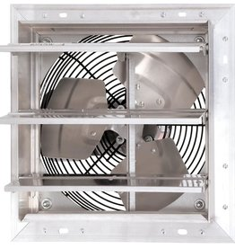 HURRICANE Hurricane Pro Shutter Exhaust Fan 16 in