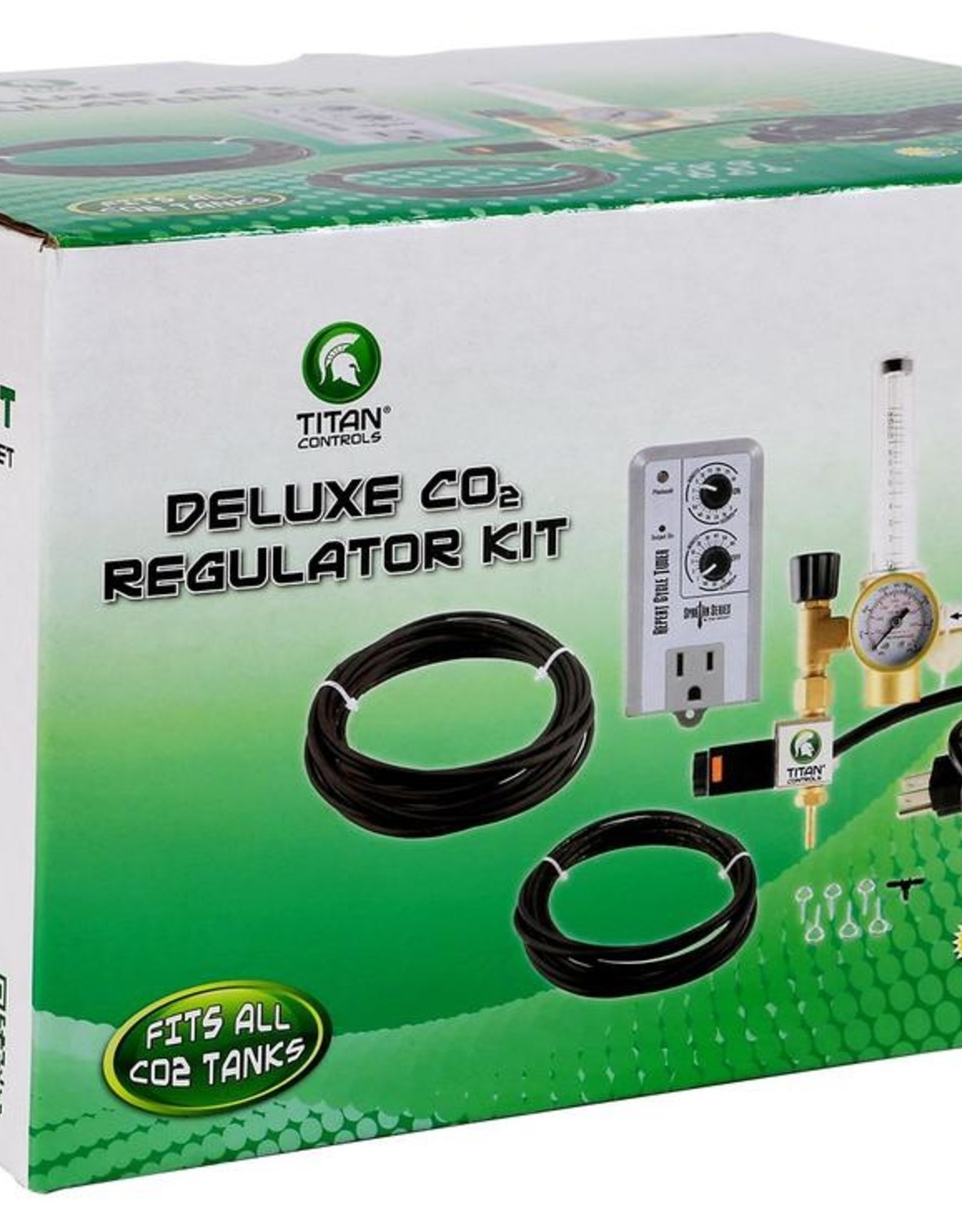 TITAN CONTROLS Titan Controls Deluxe CO2 Regulator Kit w/ Timer