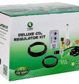 TITAN CONTROLS Titan Controls Deluxe CO2 Regulator Kit w/ Timer