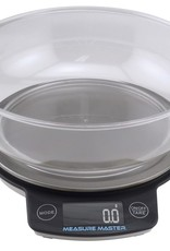 MEASURE MASTER The Measure Master® scales can be used for a variety of different purposes, including the precise measuring of fertilizers and dry nutrients. Measure Master® 3 Kg Digital Scale with 1.88 Liter Bowl features a 0.1 g graduation. Comes with a durable, stable