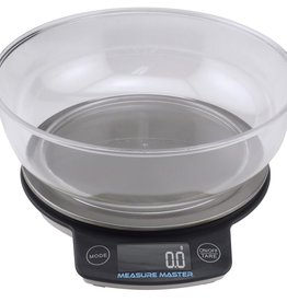 MEASURE MASTER Measure Master Digital Scale w/ 1.88 L Bowl (3kg) - 3000g Capacity x 0.1g Accuracy