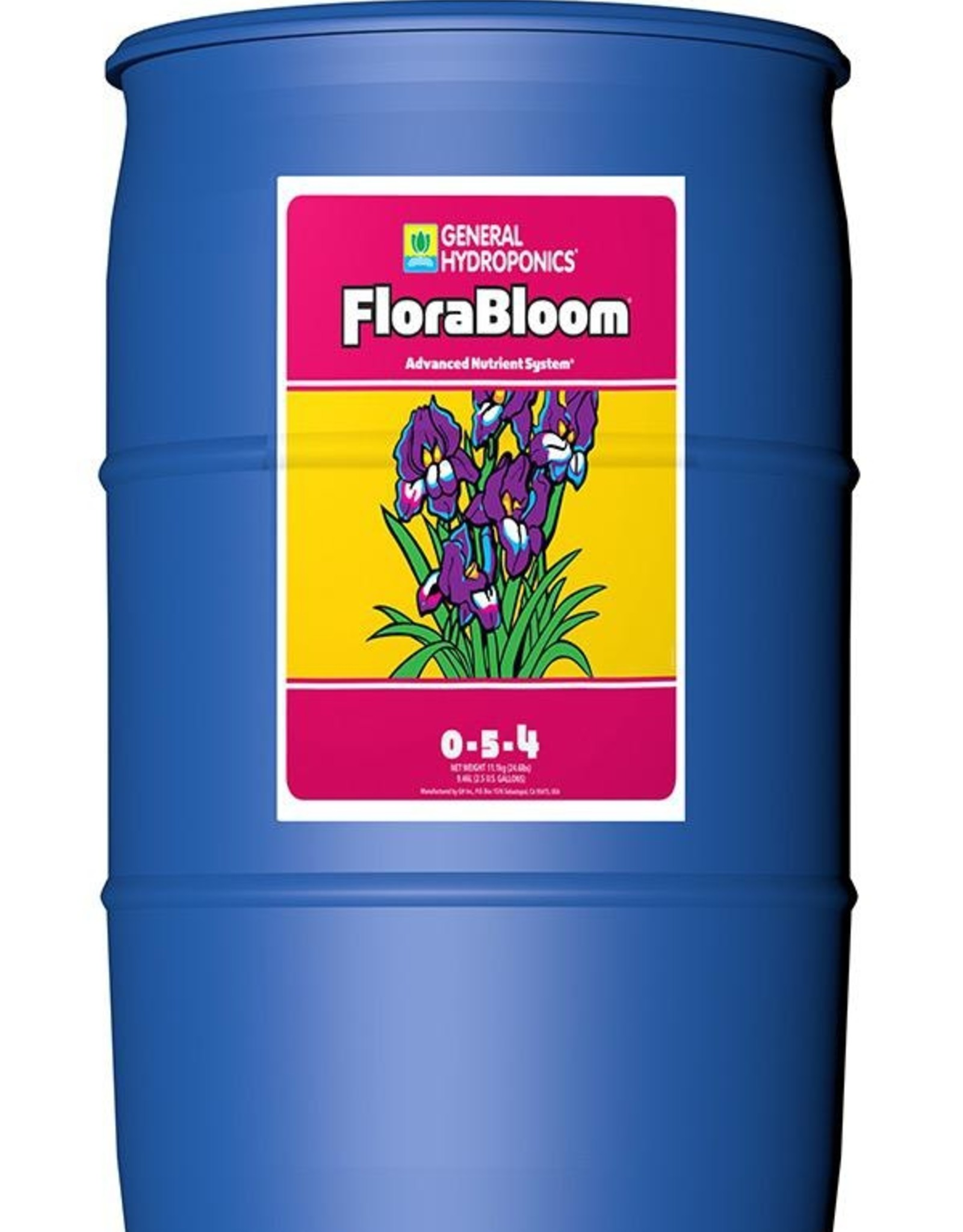 GENERAL HYDROPONICS Stimulates flower and fruit development. Enhances flavor, aroma, and essential oils. Provides high phosphorous, potassium, magnesium and sulfur.