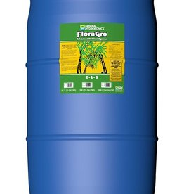GENERAL HYDROPONICS Stimulates structural and vegetative growth. Builds strong roots. Provides nitrogen, phosphorous, potassium and secondary minerals.