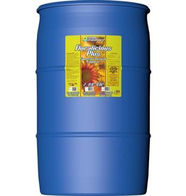 GENERAL HYDROPONICS Floralicious® Plus is a vegan bioOMING plant stimulator and nutrient additive. It is everything that is Floralicious® except it has been formulated to be applied in both the vegetative and regenerative or the flowering stages of growth. It has five times