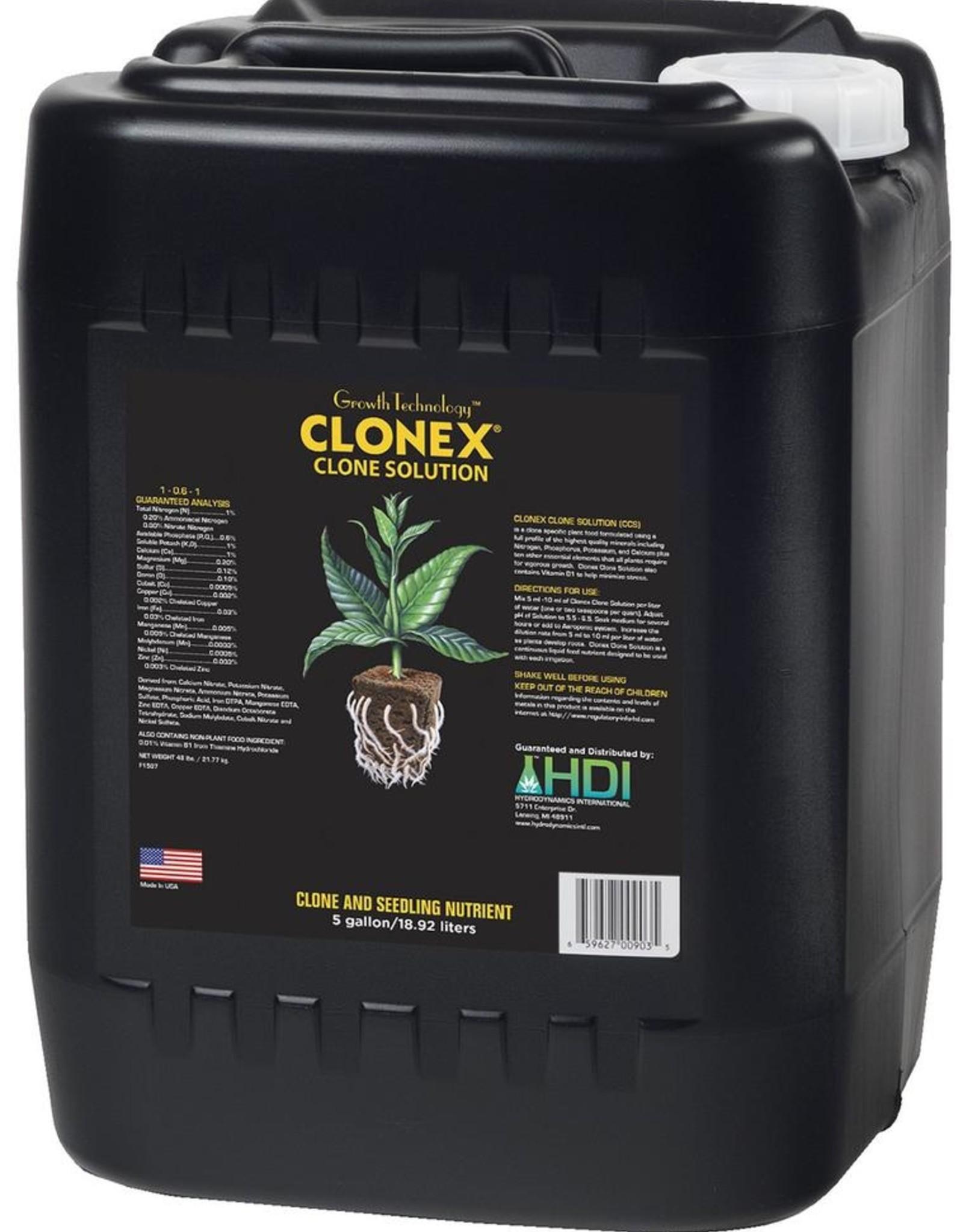 Hydro Dynamics HydroDynamics Clonex Clone Solution 5 Gallon