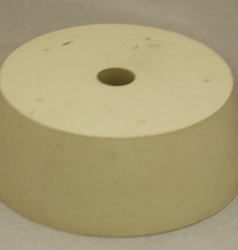 LD CARLSON #13 DRILLED RUBBER STOPPER