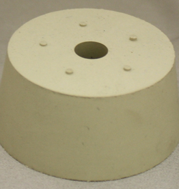 LD CARLSON #11 DRILLED RUBBER STOPPER