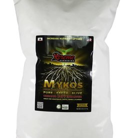 Xtreme Gardening Mykos is very specific species of Mycorrhizae that works faster and stronger. If you haven't heard of mycorrhizae, it's a microbe that builds root mass and increases plant uptake of nutrients and water. With more roots, you get more fruits. Mykos grows th