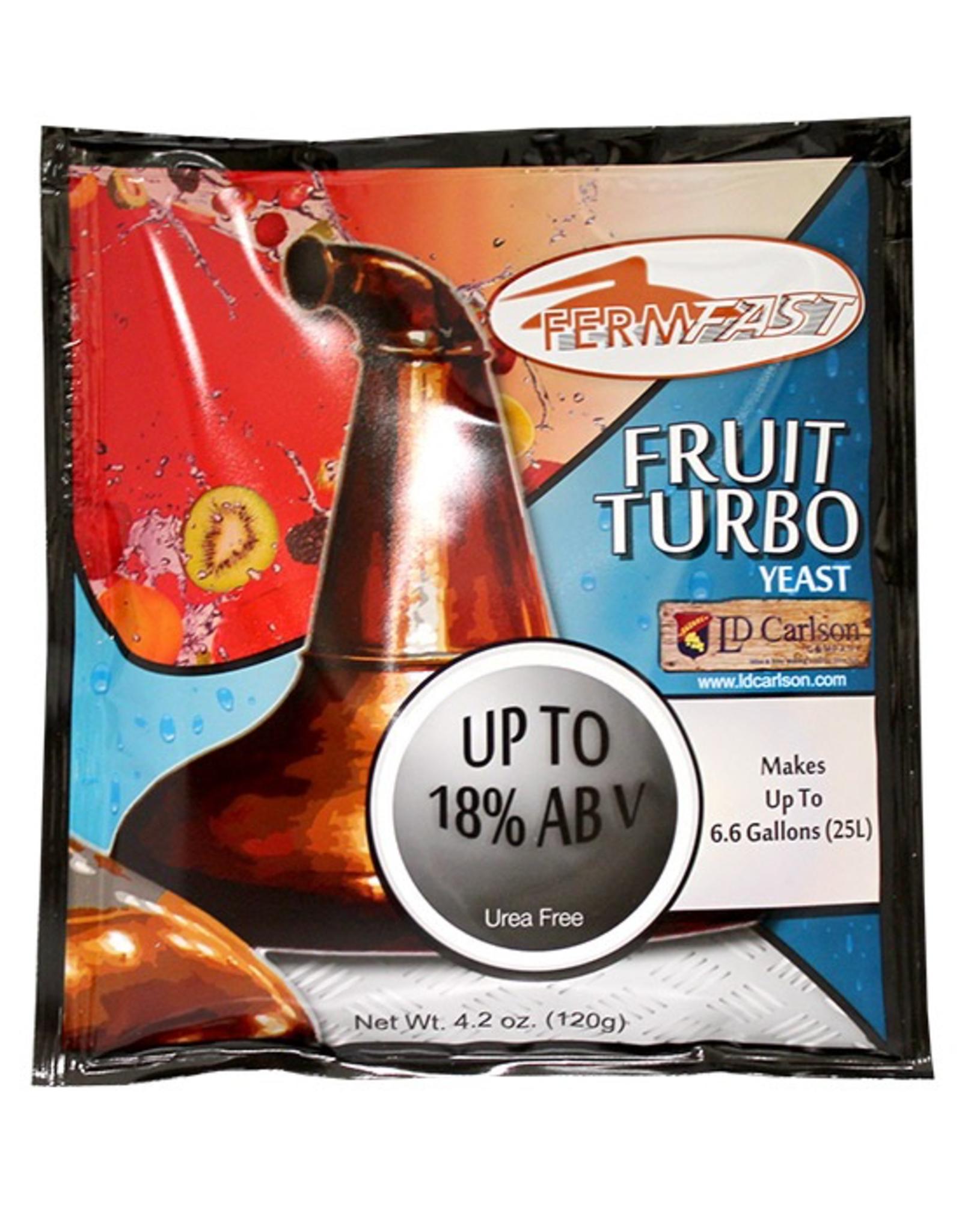 FERMFAST FERMFAST FRUIT TURBO YEAST 120 GRAM (UREA FREE)