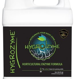 Hygrozyme Hygrozyme® is a concentrated enzyme formula and is an essential addition to any grow system. With over 20 years of medical and horticultural enzyme formulation and production experience, SIPCO perfected a proprietary formula to help plants reach their ful