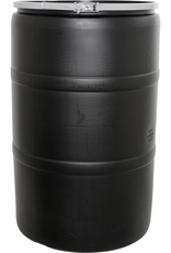 CAP PALLET SHIPPING OR STORE PICK UP ONLY Mix media and water, create your own liquid nutrient supply, or simply corral enough water to wash the family vehicle, all with this 55 gallon drum. Our high-quality drum is colored black to hold in warmth naturally,