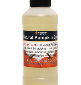 BREWERS BEST NATURAL PUMPKIN SPICE FLAVORING EXTRACT 4 OZ