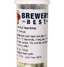 BREWERS BEST BREWER'S BEST® pH PAPERS BEER RANGE 4.6-6.2 100/VIAL