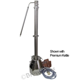 Brewhaus Essential Extractor PSII High Capacity- Complete Moonshine Still 8 gal