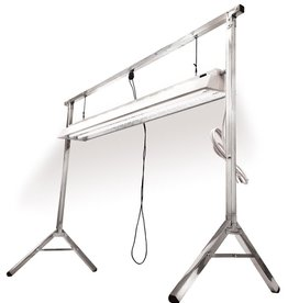 SUPER SPROUTER Super Sprouter 4 ft Propagation Stand w/ 4ft 2 lamp T5 120 Volt Fluorescent Fixture