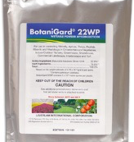 BioWorks Wettable powder mycoinsecticide. For use in controlling whiteflies, aphids, thrips and other pests in ornamentals and vegetables, greenhouse, nurseries.