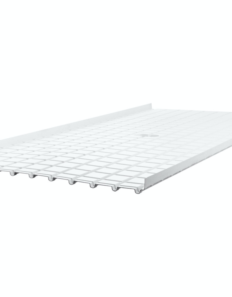 ACTIVE AQUA Active Aqua Infinity Tray Center with Drain 4'x8' Plus (+) & Minus (-)