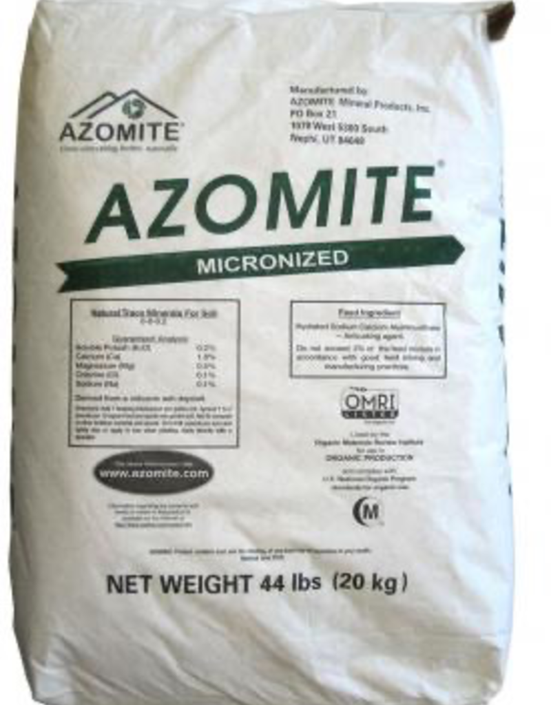 NITRON INDUSTIES Azomite Micronized Natural Trace Minerals, 44 lbs