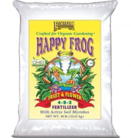FOX FARM FoxFarm Happy Frog® Fruit & Flower Fertilizer, 50 lb bag