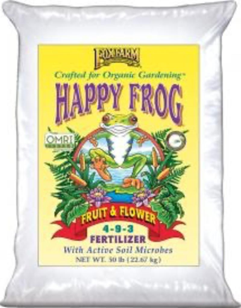 FOX FARM FoxFarm Happy Frog® Fruit & Flower Fertilizer, 50 lb bag