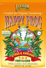 FOX FARM FoxFarm Happy Frog® Citrus & Avocado Fertilizer, 4 lb bag