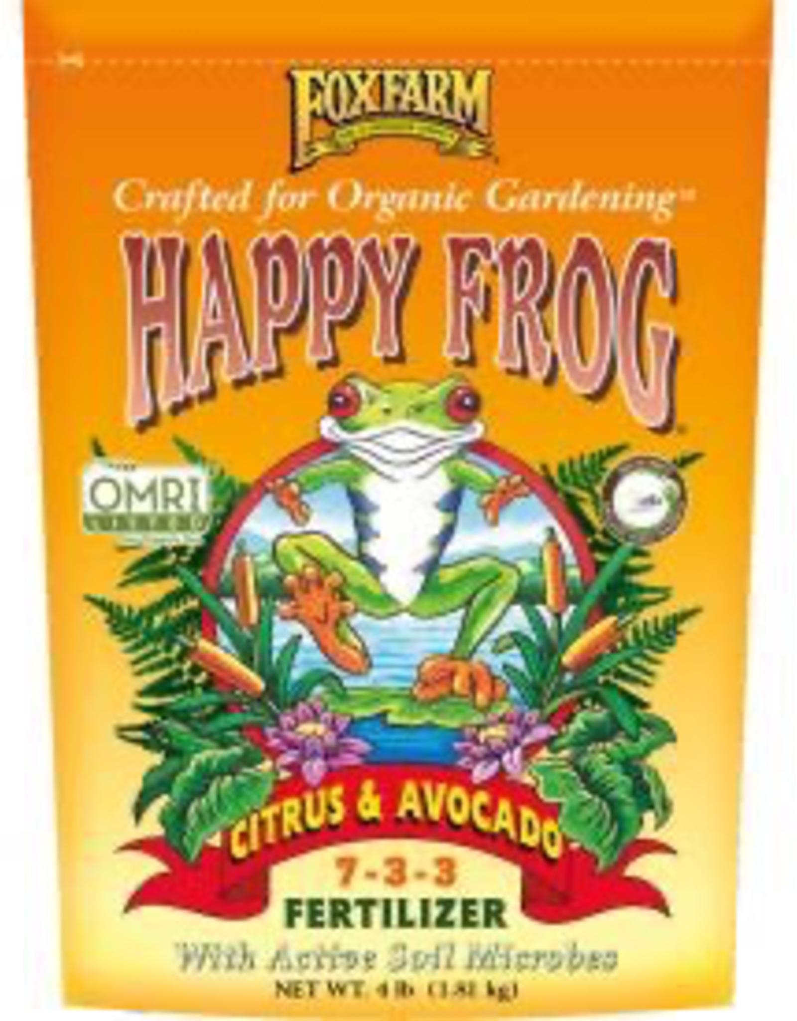 FOX FARM FoxFarm Happy Frog® Citrus & Avocado Fertilizer, 4 lb bag