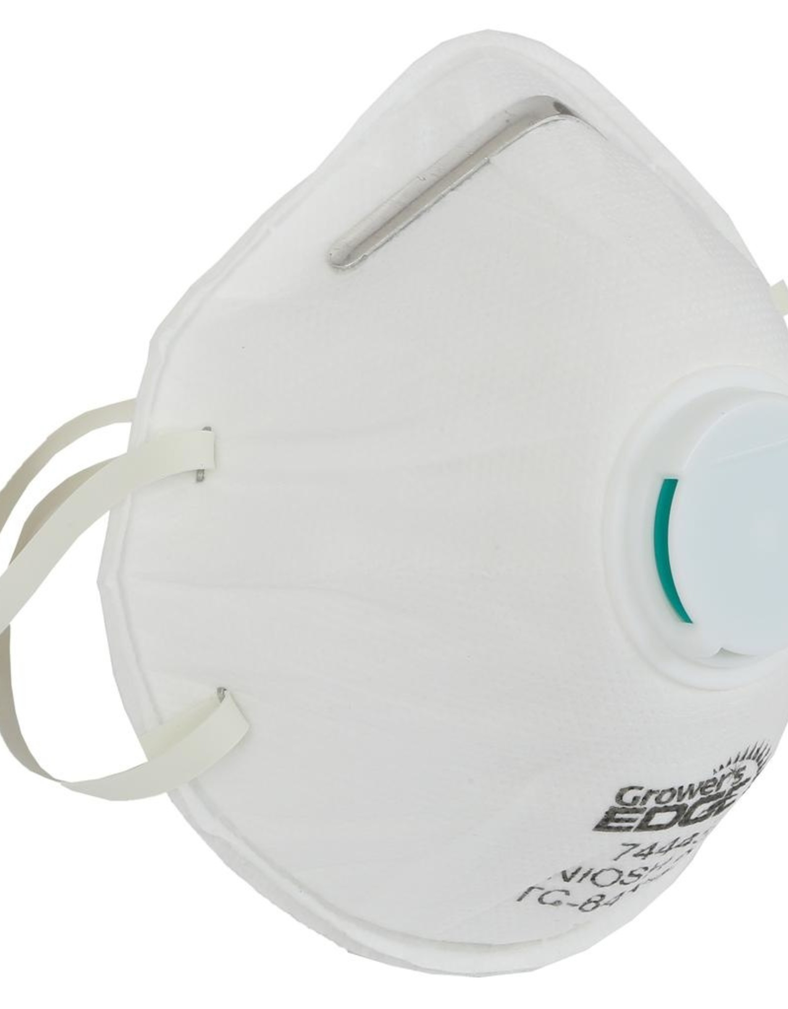 GROWERS EDGE Grower's Edge Clean Room Conical Particulate Respirator Mask w/Valve