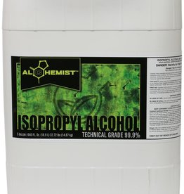 Alchemist 99.9% lab reagent/technical-grade isopropyl alcohol. Removes saps and grunge from scissors, blades and equipment quickly and easily.