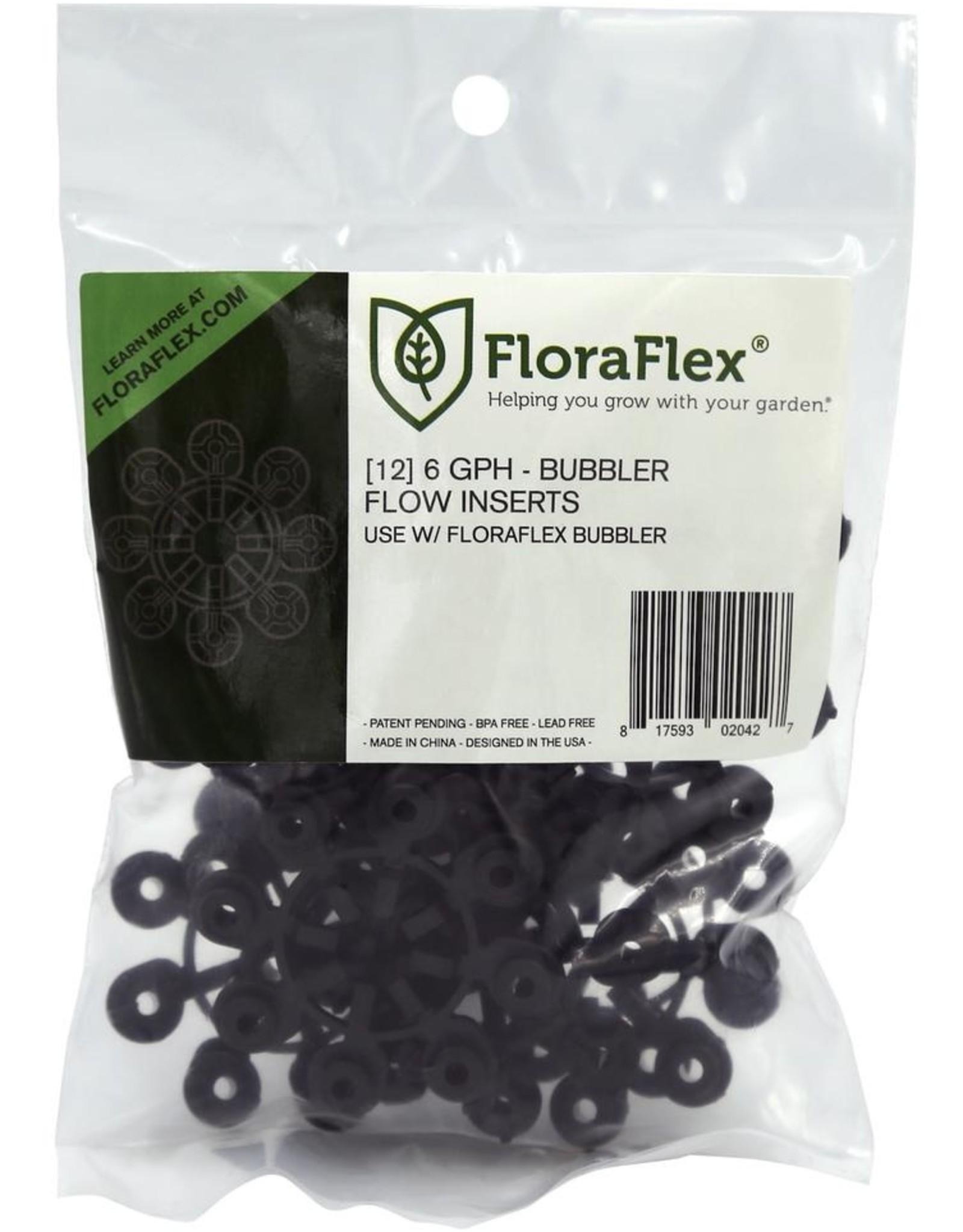 FloraFlex FloraFlex Bubbler Flow Insert 6 GPH (1=12/Pack)