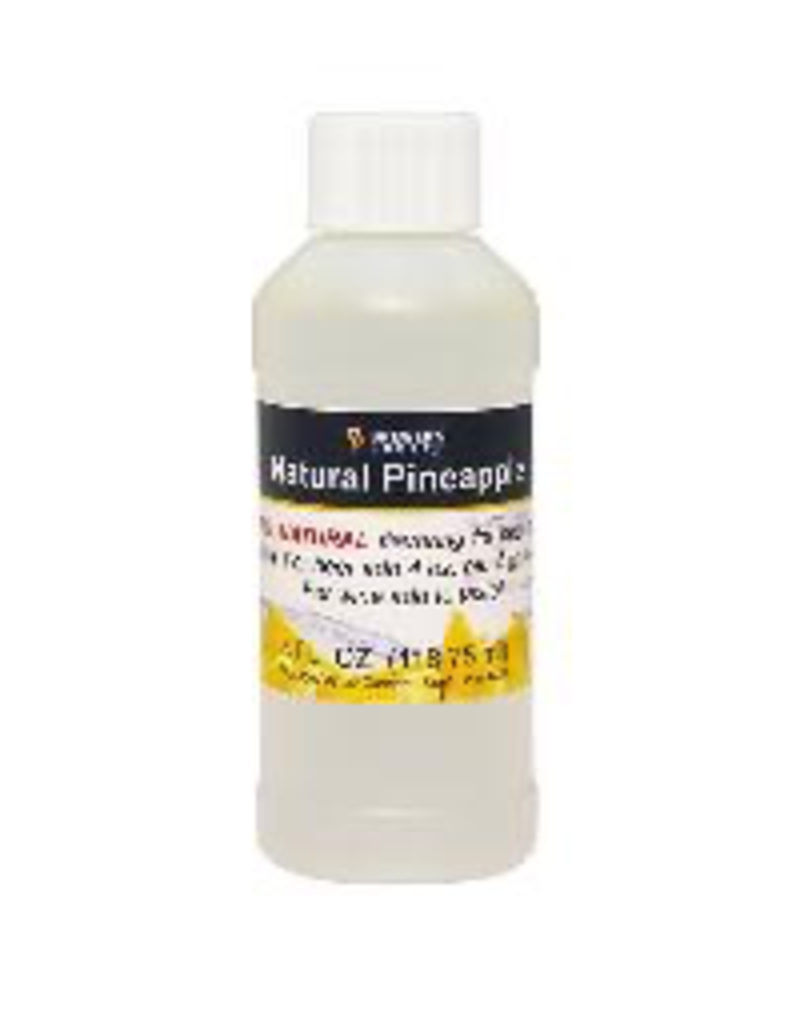 BREWERS BEST NATURAL PINEAPPLE FLAVORING EXTRACT 4 OZ