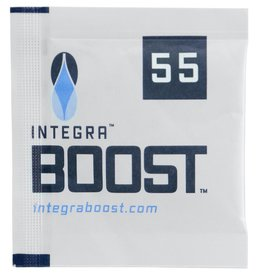 Integra Integra™ Boost™ Humidiccant uses patent pending technology that releases or absorbs moisture, maintaining relative humidity in a contained environment at or about 55% relative humidity. Each individually wrapped Integra™ Boost™ packet includes a replaceme