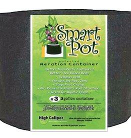 SMARTPOTS Smart Pot Black 3 Gallon
