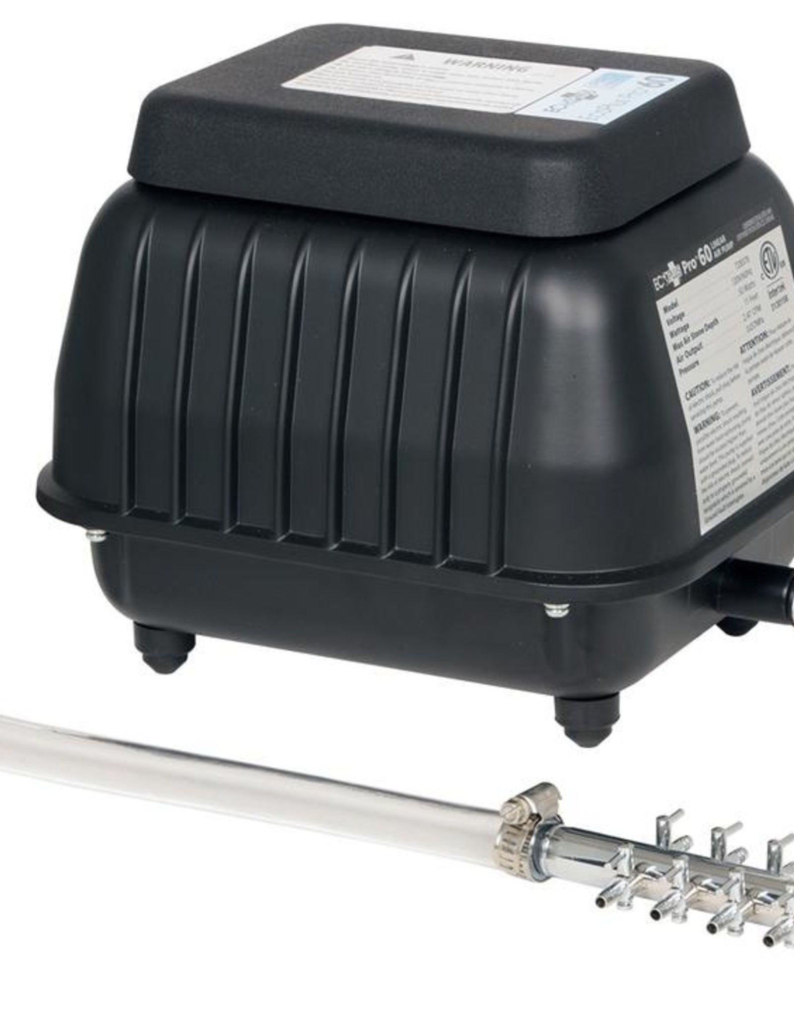 ECOPLUS EcoPlus® Pro Linear Air Pumps are commonly used to provide oxygen in aquariums, fish farms, hydroponic systems and more. These air pumps are designed to minimize noise, heat and vibration in environments where aeration is needed. This product requires min